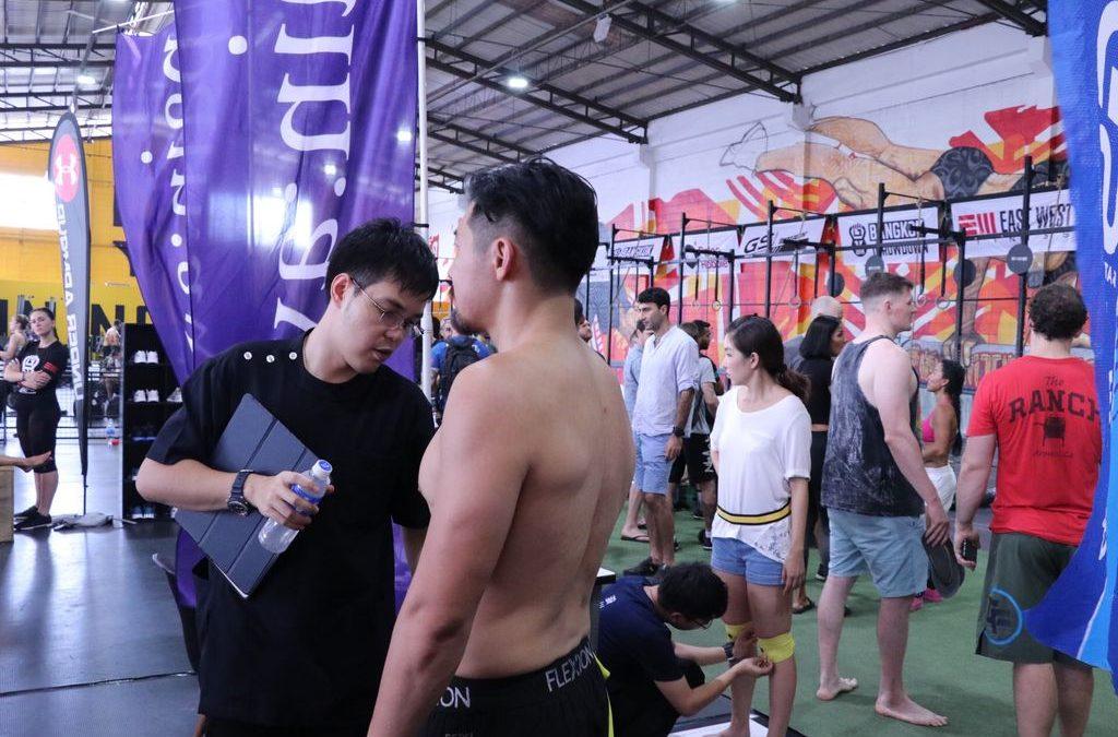 CrossFit ที่ เทรนนิ่ง กราวน์ 1 กันยายน 2561