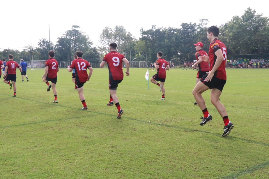 Pain Away Clinic at FEXCO Asian Gaelic Games in Bangkok