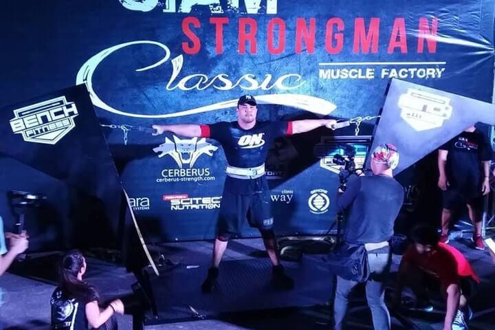 กายภาพบำบัดที่ Siam Strongman Classic Thailand